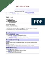 Turtle Documentacion API