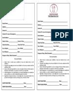 Domsowir Registration Form Ver 2
