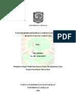 Skripsi - Faktor Risiko Kejadian Campak Pada Balita Dikota Padang 2015 (Case Control)