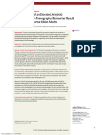 2017-PET-Amiloide Elevado en Ancianos Cognitivamente Sanos