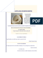 Antología de Microcuentos
