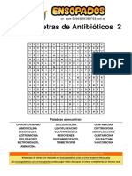 Sopa de Letras de Antibióticos 2