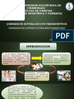 Dispensacion e Interacciones Farmacologicas