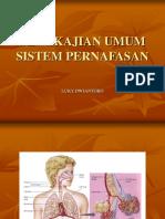 Keperawatan Sistem Respirasi 1 Pertemuan 4