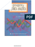 Estadistica Para Quimica Analitica - J. C. Miller