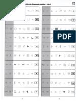 Plantilla de Calificacion de Busqueda de Simbolos Lado a y b