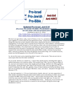 Updated Pro Israel Anti Evil