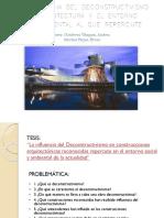 Ensayo, deconstructivismo, diapositivas
