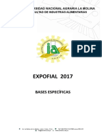 Bases Expofial 2017