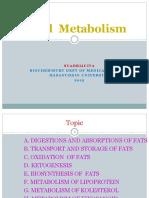 Lipid Metcabolism 2015