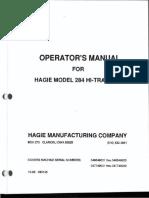 493145 284 Operators Manual 1994