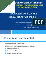 02. Dasar-dasar Manajemen Sumber Daya Manusia Islami