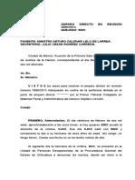 3886 2013 Amparo Directo en Revision Proceso Penal Delito de Secuestro Posible Interpretacion Del Art 29 Cpeum