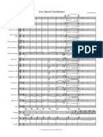 312807333 Zarathustra Banda Score and Parts