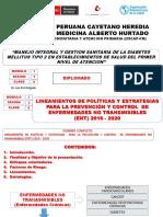 Tema Nº 6 II-3-6 Lineamientos de Politica de Enfermedades No Transmisibles