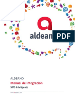 Manual de Integración Smsi Aldeamo v 6.1