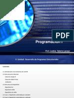 Unidad II- Programas Estructurados