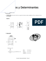 IV BIM - 4to. Año - ALG - Guía 3 -  Matrices y Determinantes.doc