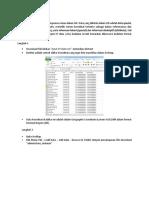 Tutorial Input Dari XY Data Dalam ArcGIS