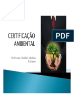 Aula 19 Certificacao Ambiental