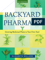Millard, Elizabeth-Backyard Pharmacy