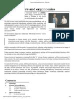 Human Factors and Ergonomics - Wikipedia