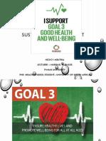 SDGs Presentation