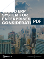 CLOUD ERP SYSTEM FOR ENTERPRISES–KEY CONSIDERATIONS