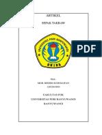 Cover Moh Riedho Kurniawan