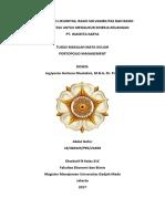 PTM Paper Analisis Laporan Keuangan PT Waskita Karya