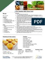 Citrus Curd Cupcake