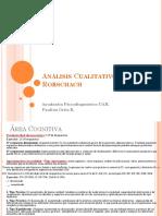 PPT Análisis Cualitativo CORREGIDO Test de Rorschach