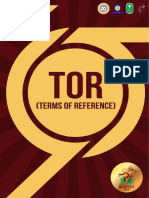 Terms of Reference CPSE KOFEIN 2018