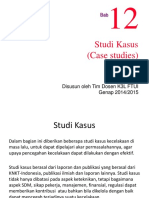 Bab `12 studi kasus