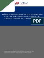 2014 Speed Report 039 Análise Dos Regulamentos e Procedimentos Do Banco de Moçambique Pt.