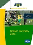 Season Summary 2010