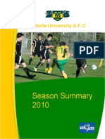 Season Summary 2010
