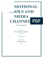 Promotional Tools and Media Channels