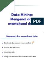 Data Mining Memahami Data