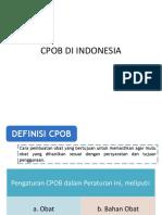 Cpob Di Indonesia