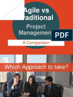Agile Versus Traditional Project Management