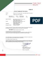 4. Typetest Report- Cu-pvc 450 - 750 v Kema 1c x 300