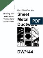 Sheet metal Duct work - HVCA.pdf