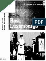 J.P. Nettl, Rosa Luxemburgo (México, Ediciones Era, 1974. 622 p) OCRed