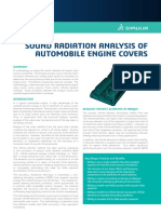 Auto Sound Radiatio Analysis of Automobile Engine