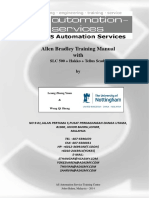 Allen Bradley RSLogix 500 Training Manual