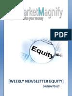 Weekly Newsletter Equity 20-NOV-2017