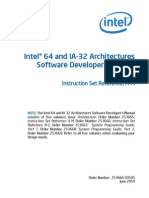 Intel® 64 and IA-32 Architectures Software Developer's Manual Volume 2A