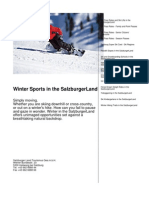Winter Sports in the SalzburgerLand en