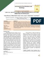 Virtual articulators in prosthodontics